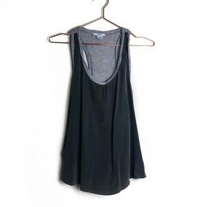 EUC Bar III Silk Gray Camisole Top Small